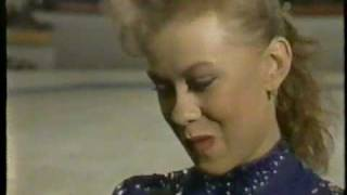 Oksana Baiul 1995 SkatesX2 Pre Competition Interview
