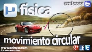 Imagen en miniatura para FISICA Movimiento circular uniformemente variado MCUV