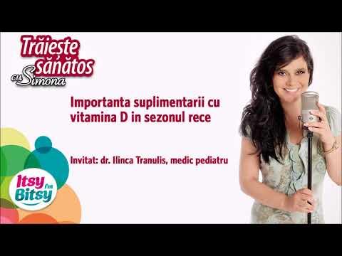 Importanta suplimentarii cu vitamina D in sezonul rece