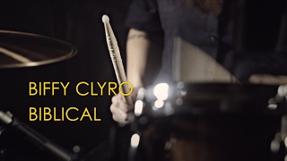 Biffy Clyro - Biblical (drum cover by Vicky Fates)
