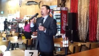 Eduardo Pérez Karaoke En El Pulpo Dallas, TX