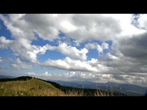 TimeLapse // test3. Carpathian mountains