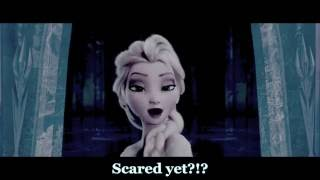 Darkness!Elsa sings Ghost