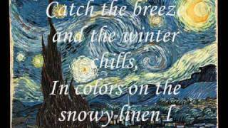 Don McLean - Vincent ( Starry, Starry Night) With Lyrics