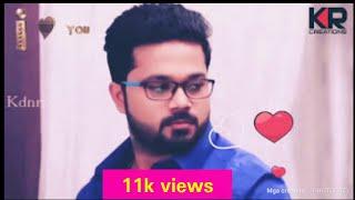 Cute romance - Raja Rani -karthick amd semba love width=