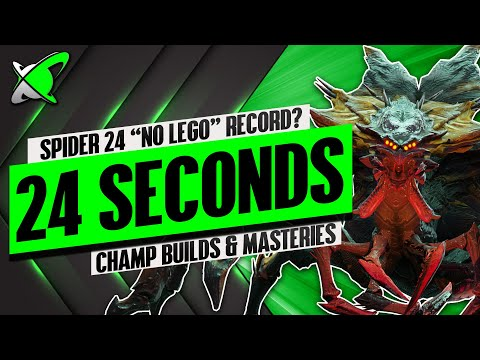 SPIDER 24 In 24 Seconds WITHOUT Legendary Champions | RAID: Shadow Legends