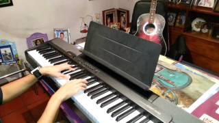 feliz cumpleaños .. cover panda . piano