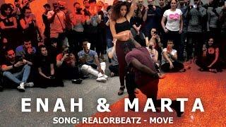Enah & Marta Urban Kiz Dance @ KIZMI 2016 |  RealOrBeatz -  Move