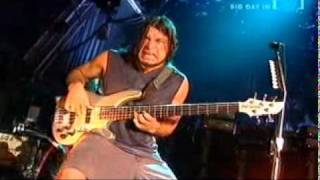 metallica - robert trujillo bass solo