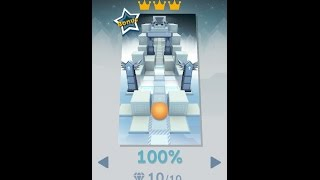 Rolling Sky | Level 2 (Monody) 10/10 Gems and 3 Crowns %100