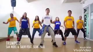 Sean Paul (trumpets)  coreografia