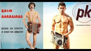 Aamir's PK Poster Copy Of Quim Barreiros' Album Poster? - BT