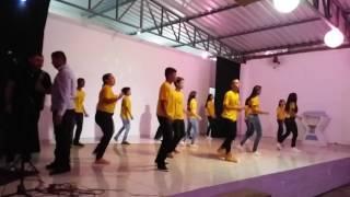 Coreografia Tribo do Leão