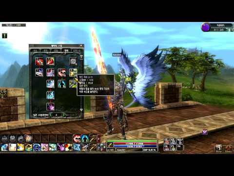 Dekaron Action 7/8 - Azure Knight Skill Tree and builds