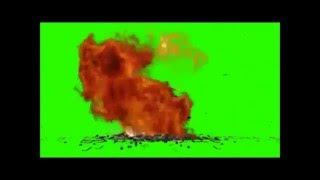explosao chroma key