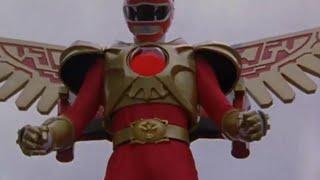 Power Ranger Fuerza Salvaje | Ranger Rojo Modo Batallador