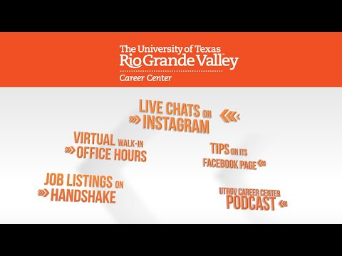 UTRGV Career Center offering online services to help job searches challenged by pandemic