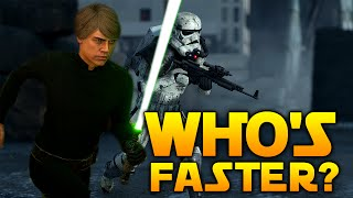 Star Wars Battlefront Escape Artist: How Fast Do You Run & Can You One Hit Heroes?