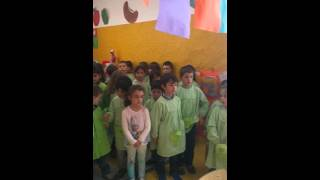 Hino da fruta 2015/2016-J.Infância,EB Raul Lino,Lx