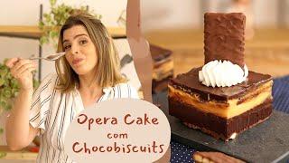 OPERA CAKE - a torta gelada mais gostosa e fácil que eu já fiz! | TPM por Ju Ferraz
