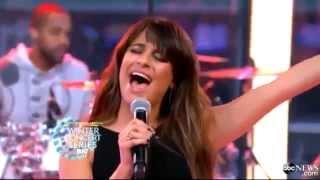 "Lea Michele - ""Cannonball"" Live On GMA"