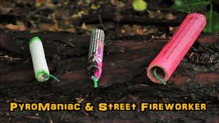 PyroManiac & Street Fireworker - Super Crackers vs. FireEvent Roter Korsar vs. Weco Super Böller 1
