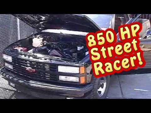 Download Video Street Test 850 HP 632 BBC Warrior Chevy Truck.  Tears Up The Streets!  Nelson Racing Engines.  NRE.