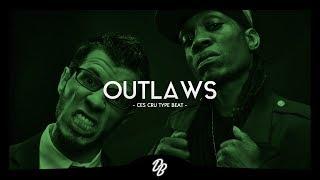 "Ces Cru Type Beat 2017 ""Outlaws""   Hard Hip Hop Instrumental"