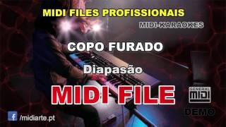 ♬ Midi file  - COPO FURADO - Diapasão