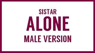 [MALE VERSION] SISTAR - Alone