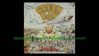 Green Day - Basket Case (lyrics)