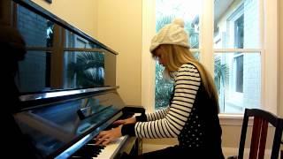 Lara plays ABBA The Winner Takes It All