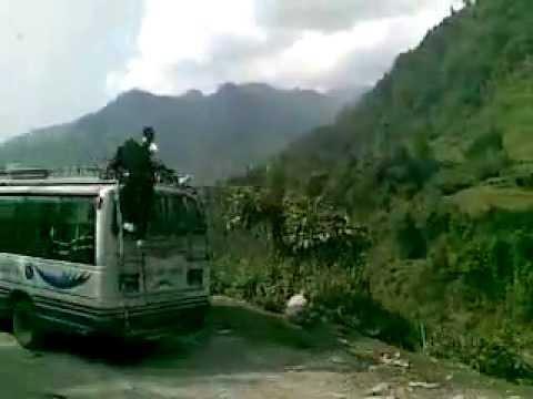 DROGA Z KATMANDU DO CHITWAN , The road from Kathmandu to Chitwan
