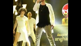 Show con el cantante Saad Lamjarred en Abu Dabi.
