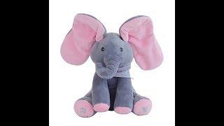 Peek A Boo Elephant Toy - Playing : MP TubeCast
