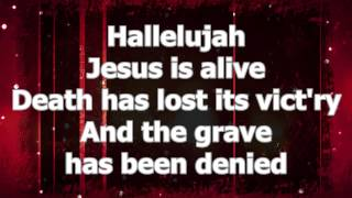 Jesus Is Alive - Instrumental with Lyrics (no vocals)