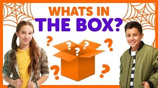 What's In The Box - Halloween Edition with Freddy & Liv from The KIDZ BOP Kids