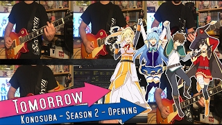 TOMORROW| KonoSuba! Season 2 Opening| Band Cover