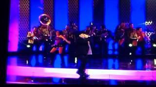 """Chuy Lizarraga - """"EN DONDE ESTAS PRESUMIDA en premios de la radio 2011"""