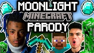 "XXXTENTACION - ""MOONLIGHT"" MINECRAFT PARODY (prod. by OX)"