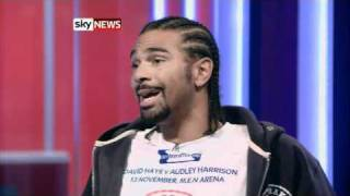 !!DAVID HAYE TELLS SKY HE STANDS BY 'GANG RAPE' BOAST!!