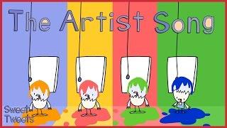 The Artist Song! | Nursery Rhymes & Kids Songs with Sweet Tweets