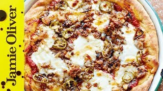 American Hot Pizza Pie | Jamie Oliver