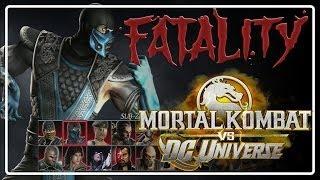 "Mortal Kombat VS DC Universe -  FATALITY "" SUBZERO """