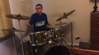 Man On The Silver Mountain Drum Cover