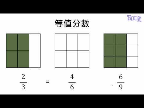 分數 - (01)等值分數(數字由小變大) - YouTube