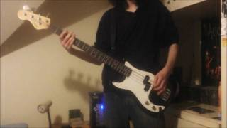 Foo fighters- Enough Space bass cover(HD)