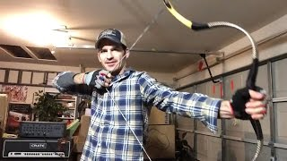 Archery 70 lb Horn Bow Composite Bow and Arrow