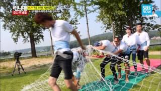 SBS [런닝맨] - 내그녀 지압판 꼬리잡기(홈쇼핑의 그것?!)