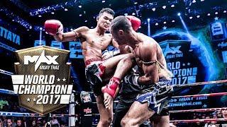Highlight MAX WORLD CHAMPION MAHASAN VS THIAGO | Aug 20, 2017 | Max Muay Thai